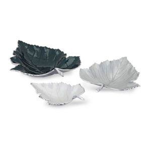 Bandejas de hojas set de 3