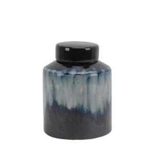 Jarron Cubierto de ceramica